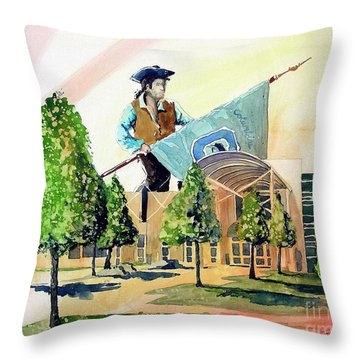 Columbine 40 Years Throw Pillow