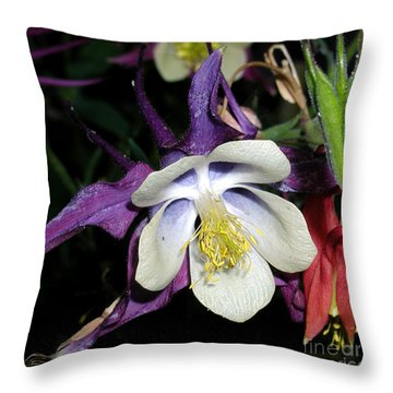 Columbine Pure Passion Throw Pillow