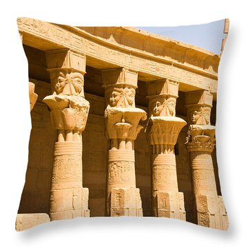Column Art Throw Pillow