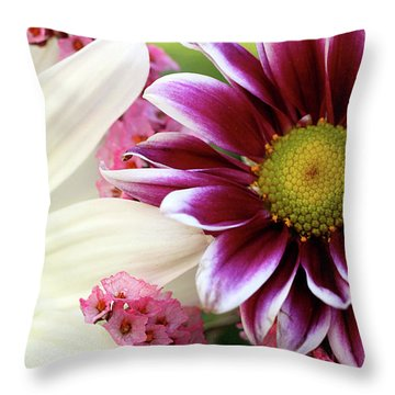 Combining Two Souls  Throw Pillow by AR Annahita