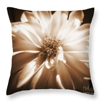 Come Closer Throw Pillow by Patti Whitten