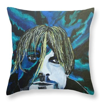 Come As You Are Throw Pillow by Stuart Engel