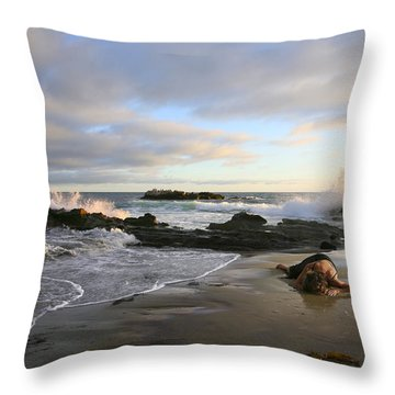 Come Back To Me Throw Pillow