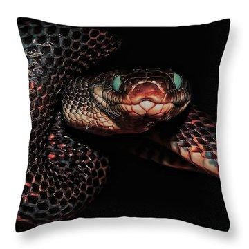 Come Closer Throw Pillow