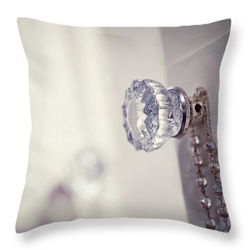 Throw Pillow featuring the photograph Come Early Morning by Trish Mistric