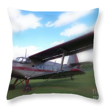 Come Fly With Me Throw Pillow by Lingfai Leung