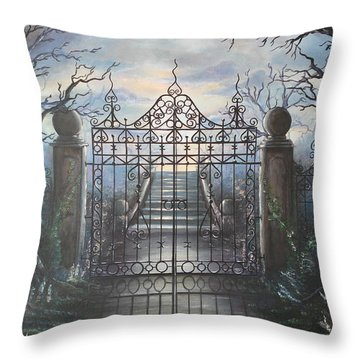 Come Forth Throw Pillow