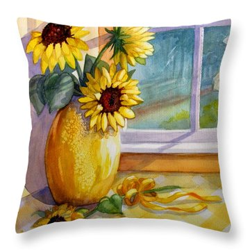 Come Home Throw Pillow by Marilyn Smith