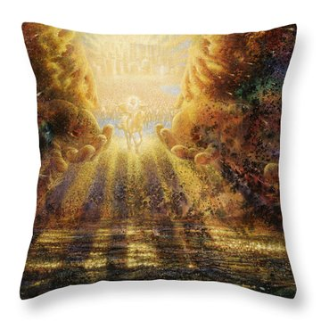 Come Lord Come Throw Pillow
