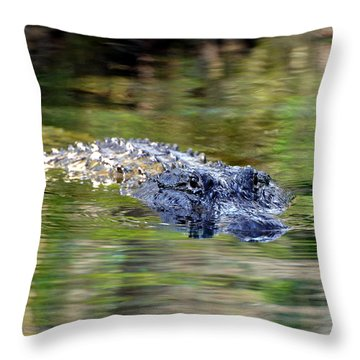 Come No Closer Throw Pillow by Jodi Terracina
