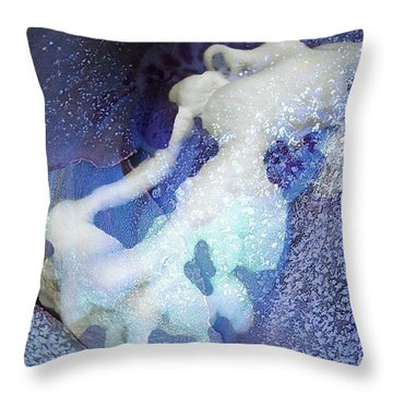 Come Play Throw Pillow by Shirley Sirois