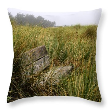Come Sit And Stay Throw Pillow