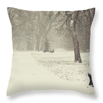 Come Sit Throw Pillow