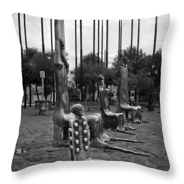 Throw Pillow featuring the photograph Come Sit With Us by Lynn Palmer