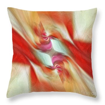 Throw Pillow featuring the digital art Comfort by Margie Chapman