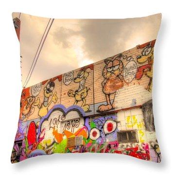 Comical Relief Throw Pillow