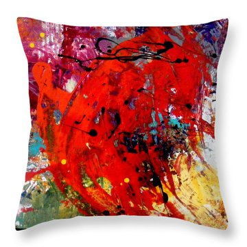 Coming And Goings Throw Pillow