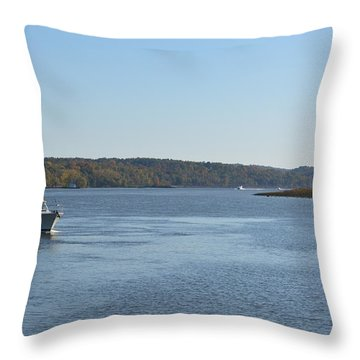 Coming Ashore Throw Pillow by Kenneth Cole