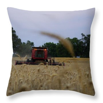Coming At You Throw Pillow