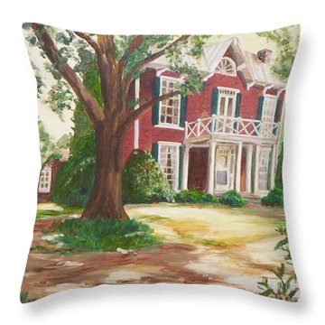 Coming Home Throw Pillow by Julie Brugh Riffey