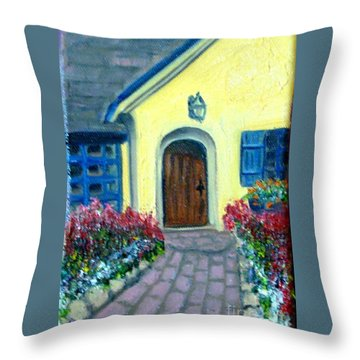 Coming Home Throw Pillow by Laurie Morgan