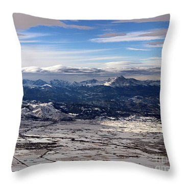 Coming Home To Colorado Springs Throw Pillow