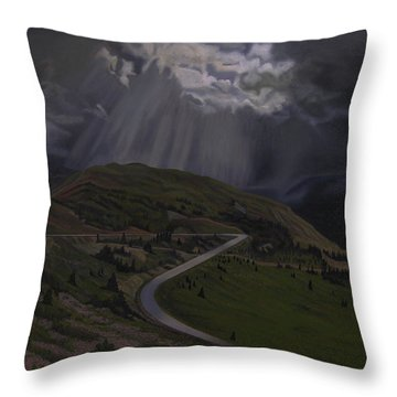 Coming Home To God Throw Pillow by Thu Nguyen