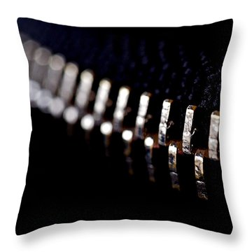 Throw Pillow featuring the photograph Coming Together by Rona Black
