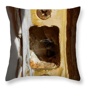 Comings And Goings Throw Pillow by Aliceann Carlton