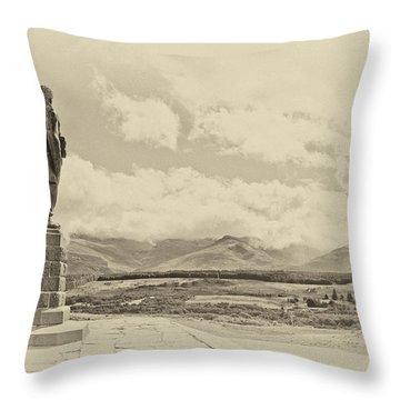 Commando Memorial 3 Throw Pillow
