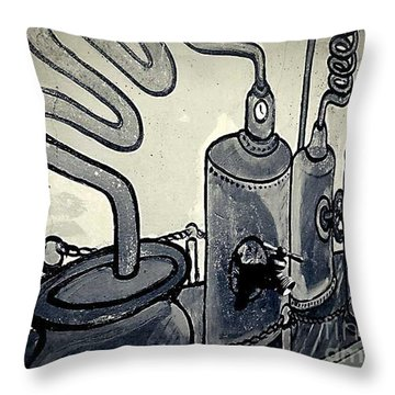 Commercial Wall Throw Pillow