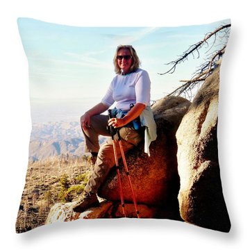 Throw Pillow featuring the photograph Commission Free - Crickets by Benjamin Yeager