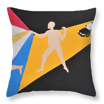 Committed Throw Pillow
