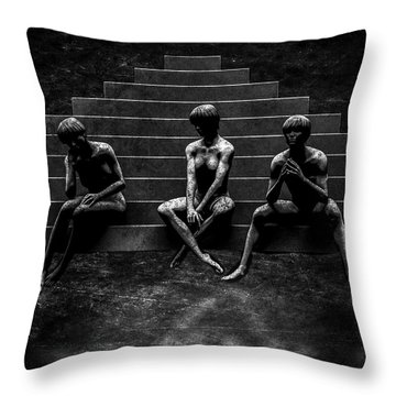 Communications Breakdown Throw Pillow by Bob Orsillo