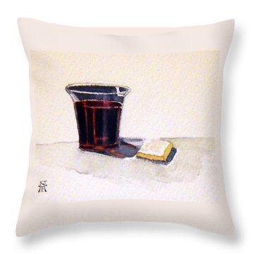 Communion Throw Pillow