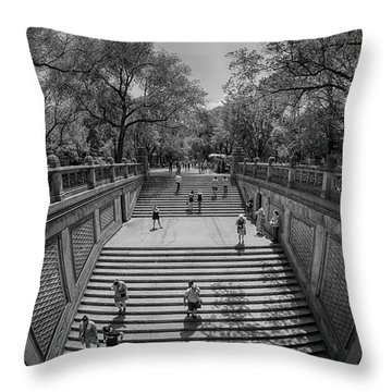 Commute Throw Pillow