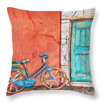 Commuter's Dream Throw Pillow