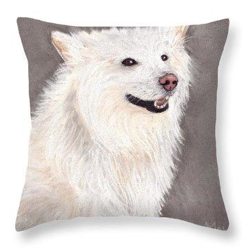 Companion Throw Pillow by Anastasiya Malakhova