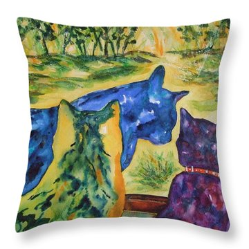 Companions Throw Pillow