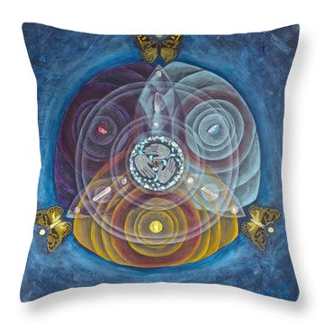 Compassionate Peace Throw Pillow