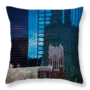 Competing Priorities Throw Pillow