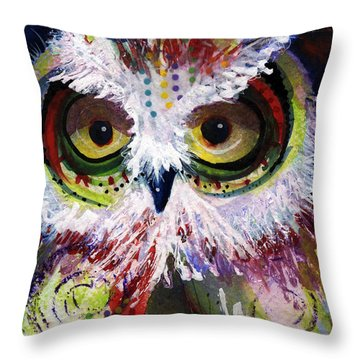 Complimentary Owl Throw Pillow