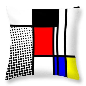Composition 100 Throw Pillow