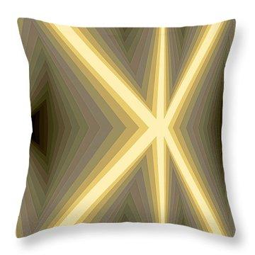 Composition 111 Throw Pillow