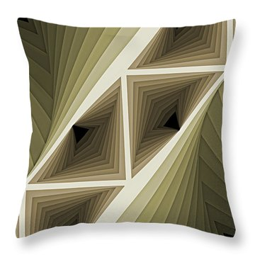 Composition 132 Throw Pillow