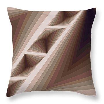 Composition 165 Throw Pillow
