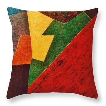 Composition 1972 Throw Pillow