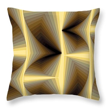 Composition 252 Throw Pillow