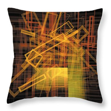Composition 26 Throw Pillow