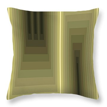 Composition 80 Throw Pillow